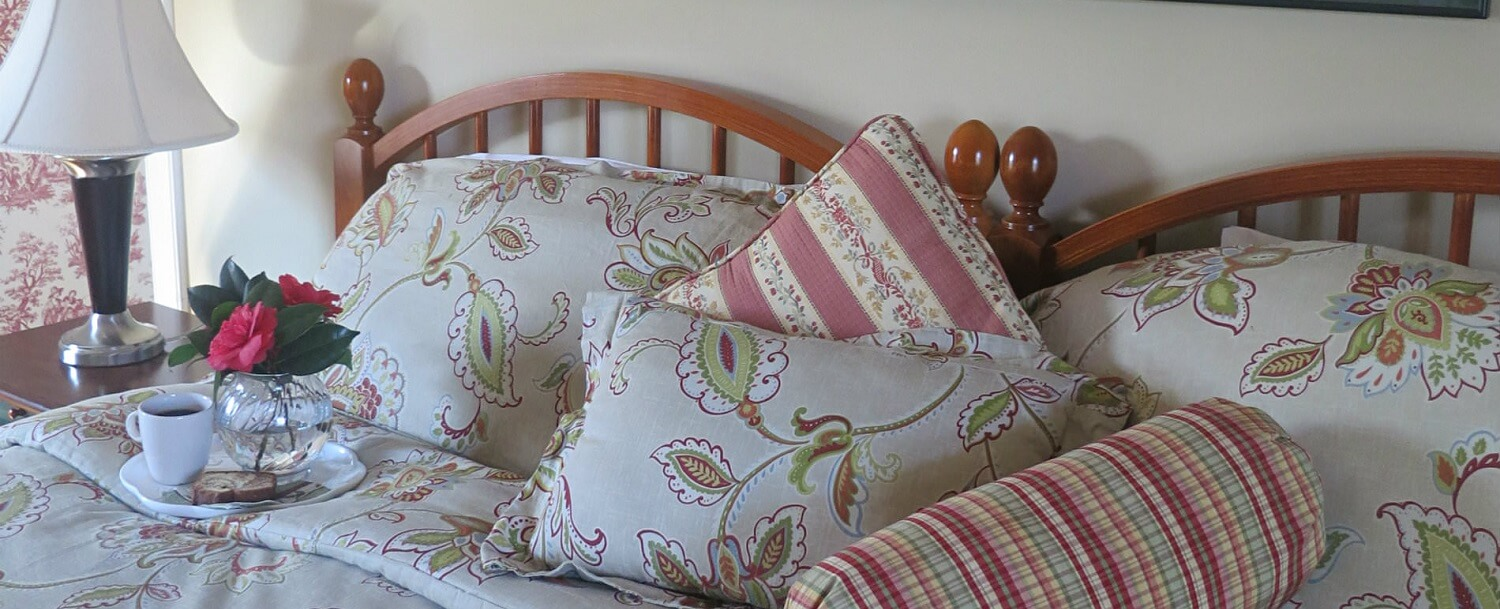 Sassafras Guest Room Bed