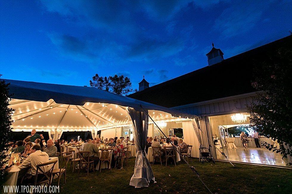 Evening event at Inn at Huntingfield Creek