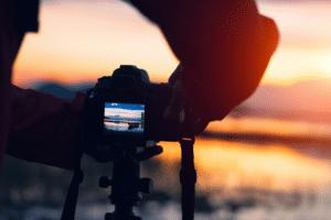 camera and the bay